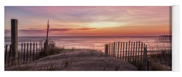 Rodanthe Sunrise Yoga Mat