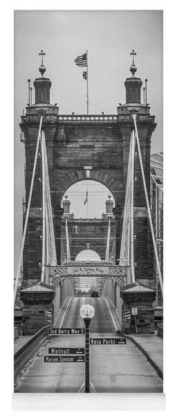 Roebling Bridge Yoga Mat