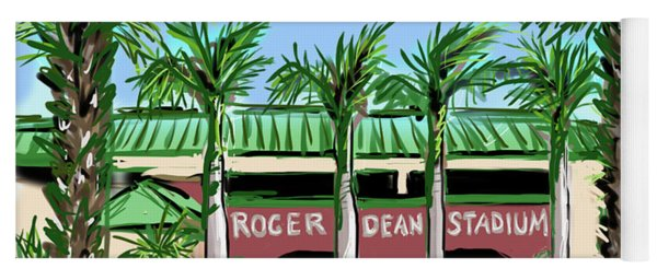 Roger Dean Stadium Yoga Mat