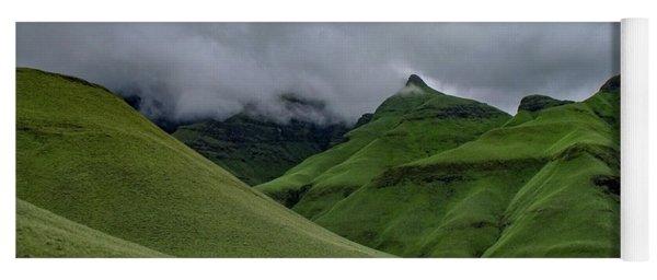 Rolling Green Drakensberg Mountains Yoga Mat