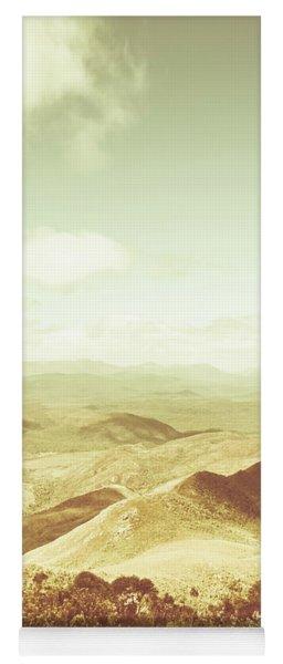 Rolling Rural Hills Of Zeehan Yoga Mat