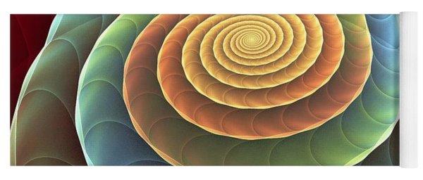 Rolling Spiral Yoga Mat