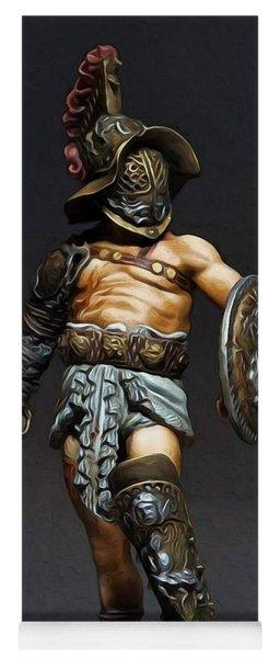 Roman Gladiator - 02 Yoga Mat