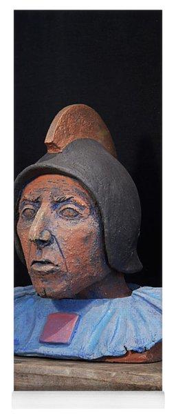 Roman Warrior Roemer - Roemer Nettersheim Eifel - Military Of Ancient Rome - Bust - Romeinen Yoga Mat
