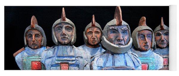 Roman Warriors - Bust Sculpture - Roemer - Romeinen - Antichi Romani - Romains - Romarere Yoga Mat