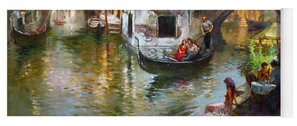 Romance In Venice 2 Yoga Mat