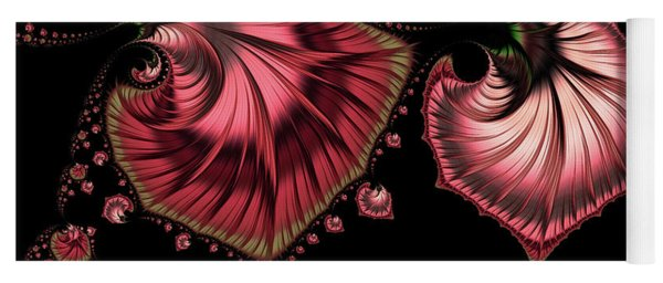 Romantically Jewelled Abstract Yoga Mat