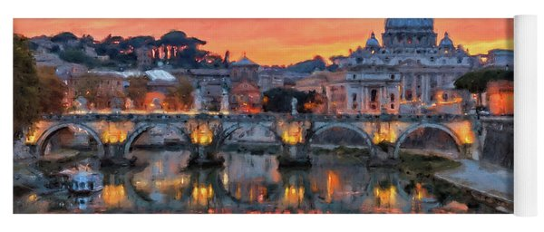 Rome And The Vatican City - 01  Yoga Mat