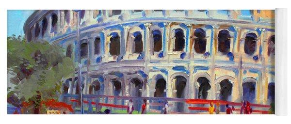 Rome Colosseum Yoga Mat