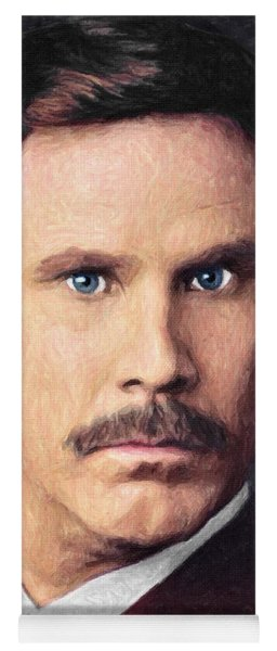 Ron Burgundy Yoga Mat