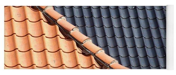 Roof Tiles Yoga Mat
