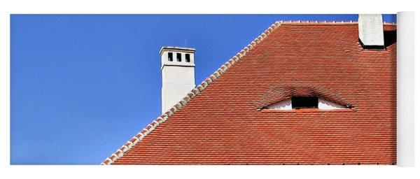 Roof's Eyes Of Transylvania Yoga Mat