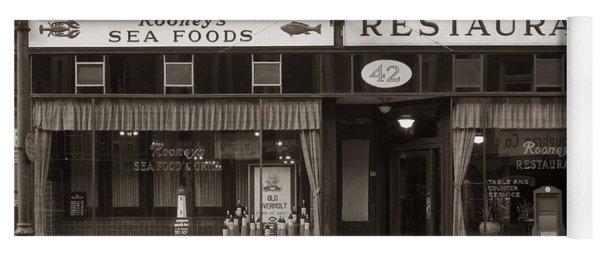 Rooney's Restaurant Wilkes Barre Pa 1940s Yoga Mat