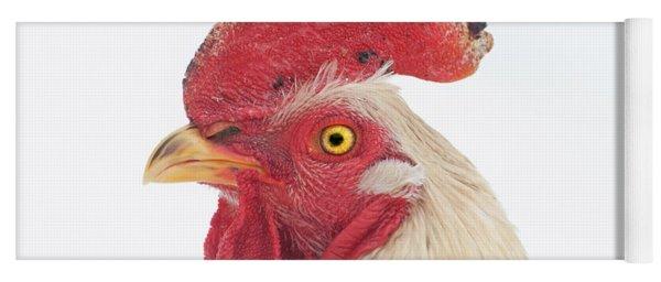Rooster Named Spot Yoga Mat