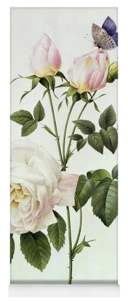 Rosa Bengale The Hymenes Yoga Mat