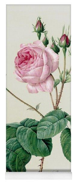 Rosa Centifolia Bullata Yoga Mat