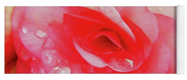 Rose After The Rain Yoga Mat