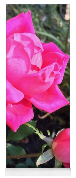 Rose Duet Yoga Mat