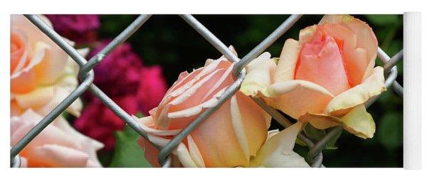 Rose Fence Yoga Mat