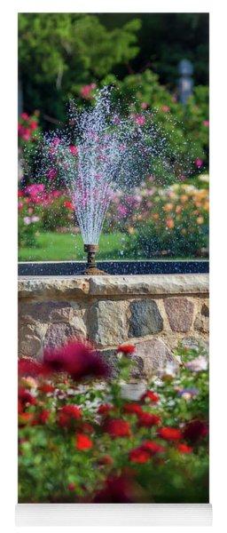 Rose Fountain Yoga Mat