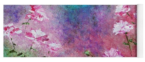 Rose Garden Yoga Mat