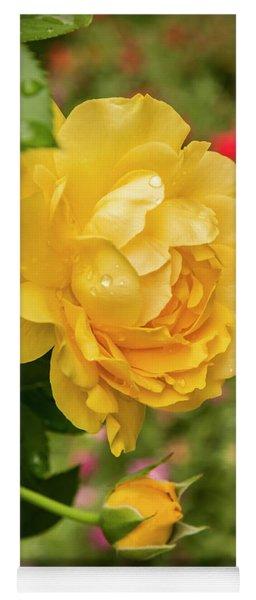 Rose, Julia Child Yoga Mat