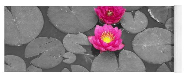 Rose Of The Water Yoga Mat