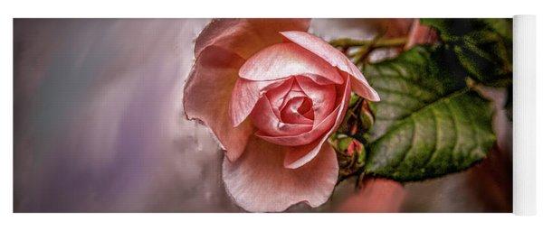 Rose On Paint #g5 Yoga Mat