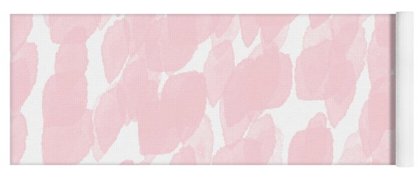 Rose Rain- Art By Linda Woods Yoga Mat