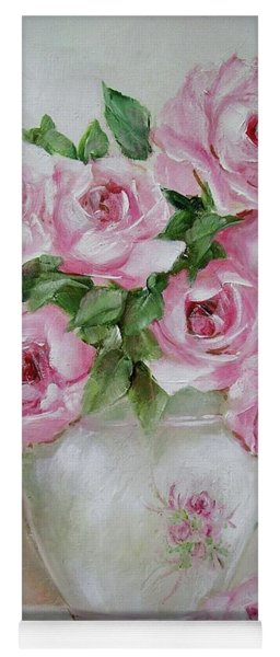 Rose Vase Yoga Mat