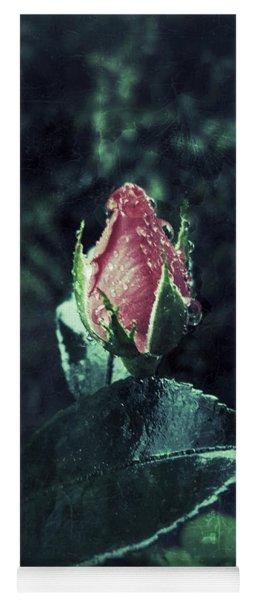 Rosebud Rain Drops Yoga Mat