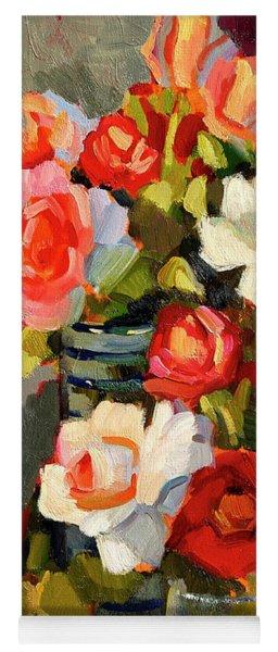 Roses From My Garden Yoga Mat