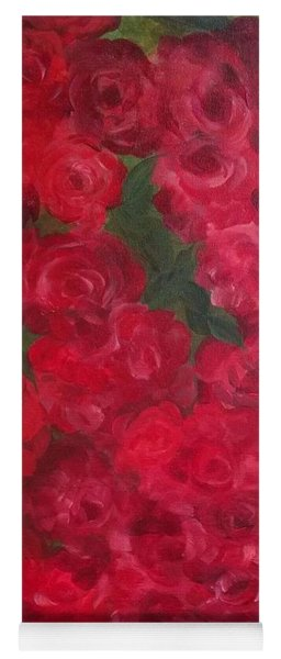 Roses Garden Yoga Mat