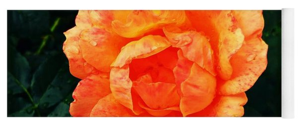 Rosy Glory Yoga Mat