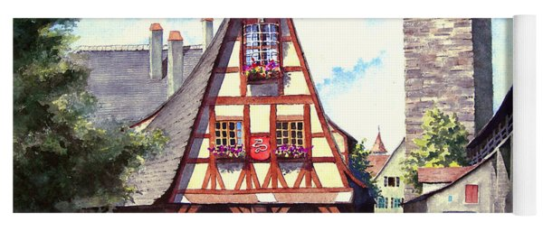 Rothenburg Memories Yoga Mat