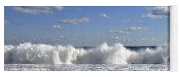 Rough Surf Jersey Shore  Yoga Mat