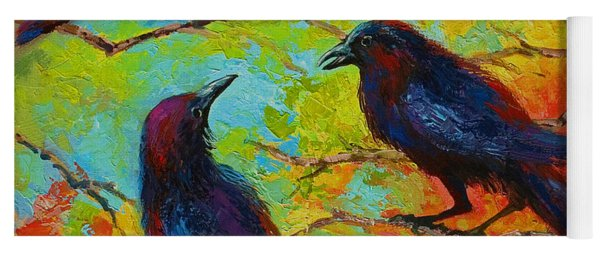 Roundtable Discussion - Crows Yoga Mat