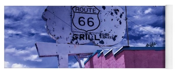 Route 66 Grill Yoga Mat