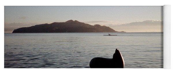 Rowing Off Sausalito, Ca Yoga Mat