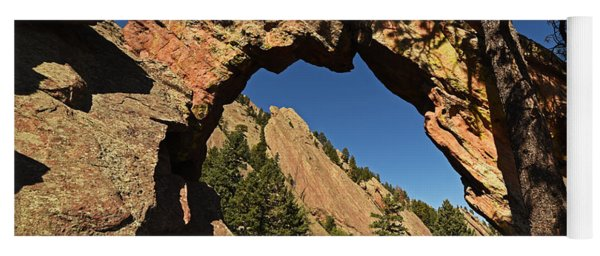 Royal Arch Trail Arch Boulder Colorado Yoga Mat