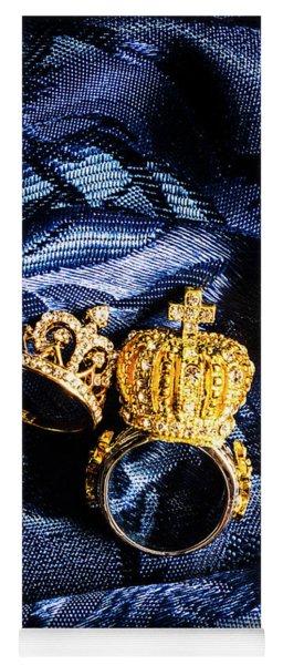 Royal Blue Couple Yoga Mat