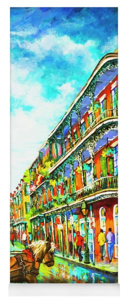 Royal Carriage - New Orleans French Quarter Yoga Mat