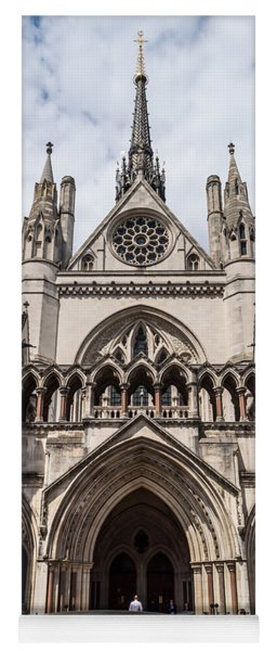 Royal Courts Of Justice In London Yoga Mat