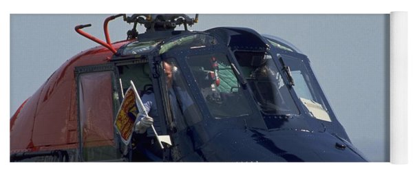 Yoga Mat featuring the photograph Royal Helicopter by Travel Pics