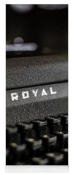 Royal Typewriter #19 Yoga Mat