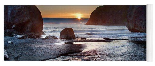 Ruby Beach #1 Yoga Mat