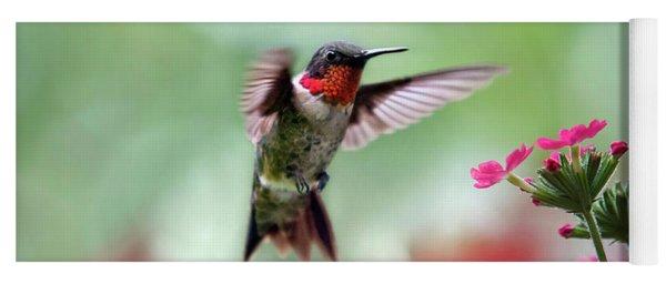 Ruby Garden Jewel Yoga Mat