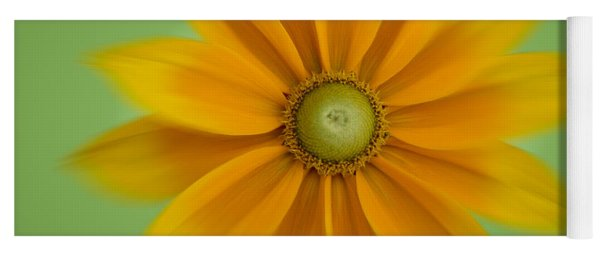 Rudbeckia Blossom Irish Eyes - Square Yoga Mat