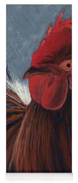Rudy The Rooster Yoga Mat