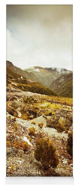 Rugged Valley Wilderness Yoga Mat